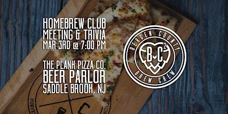 March 2020 Brew Club Meeting & Trivia tickets