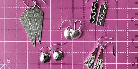 Make a pair of silver earrings for Mother's Day (or yourself!) tickets