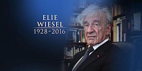 Elie Wiesel, A Novelist Born of the Holocaust tickets