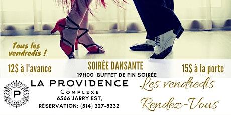 Soirée Dansante Les Vendredis Rendez-Vous billets