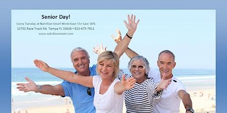 Senior Discount Days 55+ Save 10% tickets