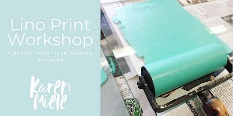 Beginners Lino Printing Workshop tickets