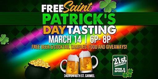 St. Patricks Day Beer & Cocktail Tasting!