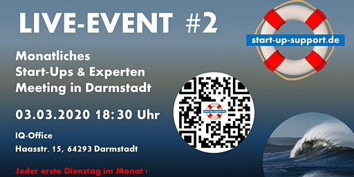 LIVE-EVENT #2 - start-up-support Darmstadt