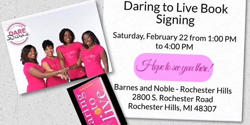 Daring to Live Book Signing