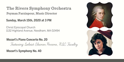 An All-Mozart Program with The Rivers Symphony Orchestra