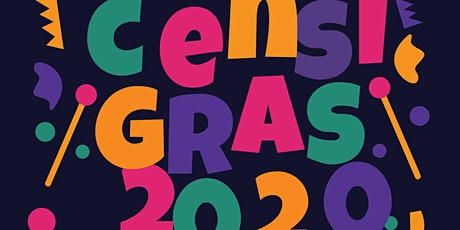 Censi Gras 2020 - Be in that NUMBER! tickets