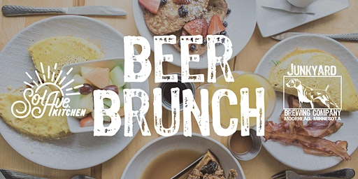 Beer Brunch with Sol Ave. Kitchen March 1st at Junkyard Brewing Co.