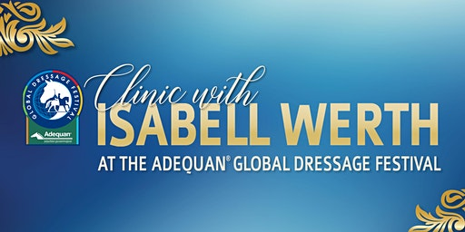Isabell Werth at Adequan® Global Dressage Festival 2020