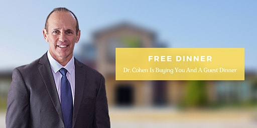 Cause is the Cure | FREE Dinner Event with Dr. Michael Cohen