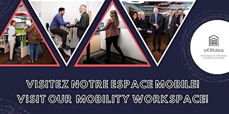 Visites de l'espace de travail TI | IT Workspace Tours billets