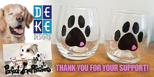 """Fundraiser to Benefit """"Perfect Imperfections Rescue"""" - Paint Paws"""