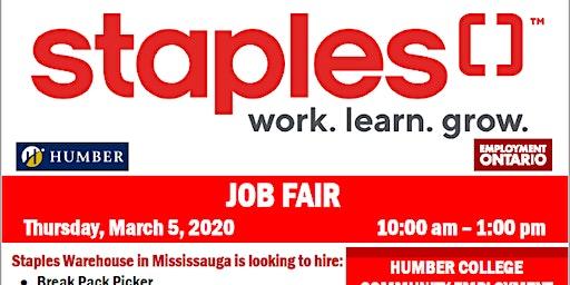 Staples Job Fair