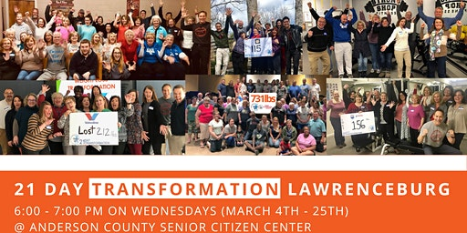 21 Day Transformation - Lawrenceburg (March)