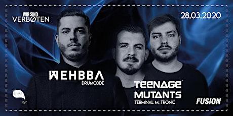 Wir sind Verboten Showcase w/ Wehbba & Teenage Mutants Tickets