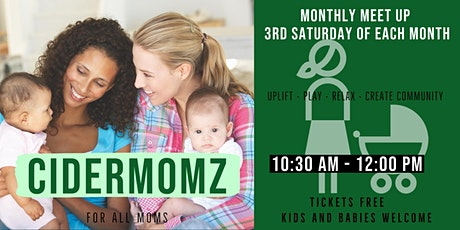 Cidermomz Meet Up tickets