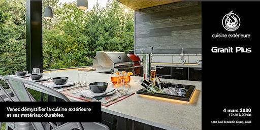 Démystifier la cuisine extérieure et ses matériaux durables.
