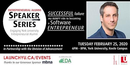 Entrepreneurial Alumni Speaker Series: Successful Failure. My Bumpy Ride to Becoming a Software Entrepreneur