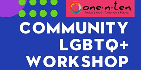 Community LGBTQ+ Workshop tickets