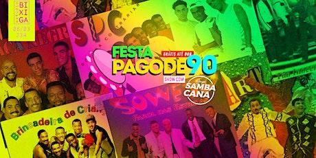 06/03 - PAGODE 90 NO ESTÚDIO BIXIGA ingressos