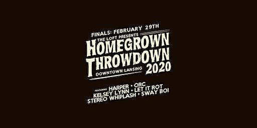 Homegrown Throwdown 2020 - FINALS