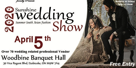 Sunshine Wedding Show & Bridal Expo tickets