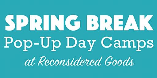 Spring Break Pop-Up Day Camps