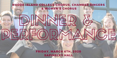 RIC Spring Choral Concert: Dinner & Concert (Exclusively for Music Alumni )