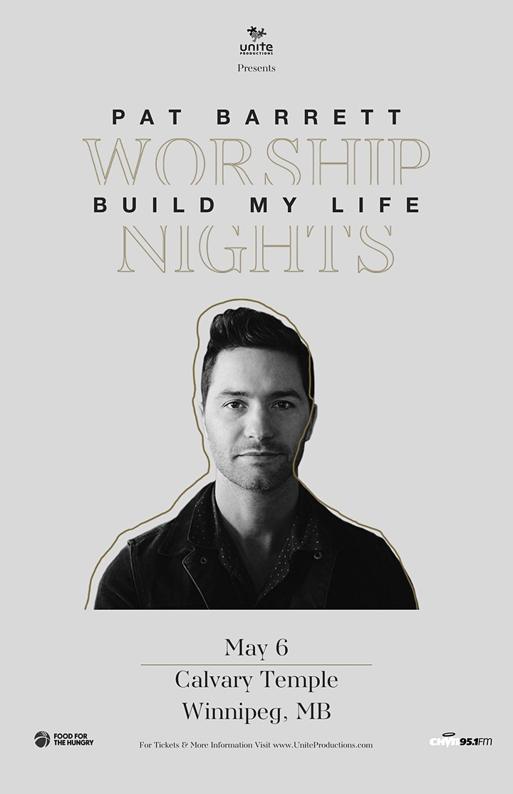 06/05 - Winnipeg - Pat Barrett Build My Life Worship Nights image