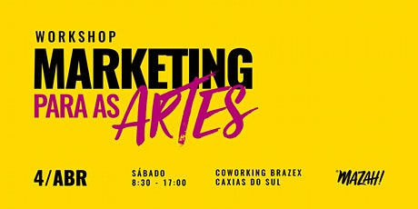 Workshop - Marketing para as Artes ingressos