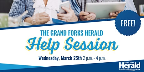 Grand Forks Herald Help Session tickets