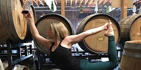 Vino Vinyasa Wine and Yoga Bubble and Swing tickets