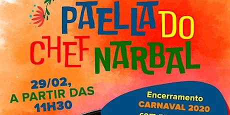 Paella do Chef Narbal ingressos