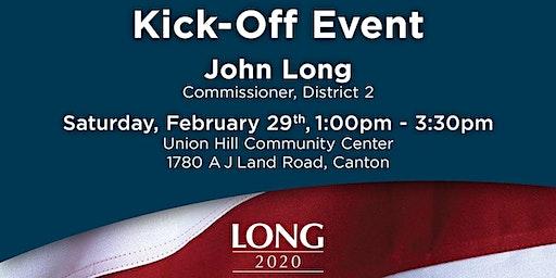 John Long for Cherokee Kick-Off Event