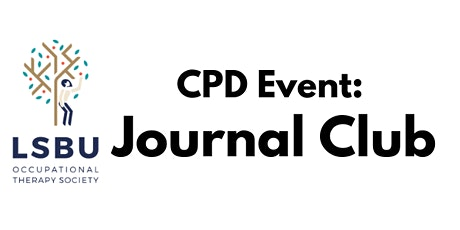 LSBU OT Society Journal Club tickets