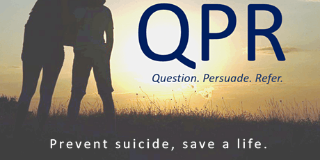 Question, Persuade, Refer (QPR) Gatekeeper Training for Suicide Prevention tickets