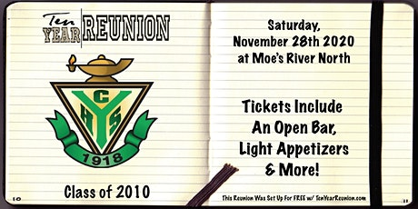 York High School Class of 2010: Ten Year Reunion tickets