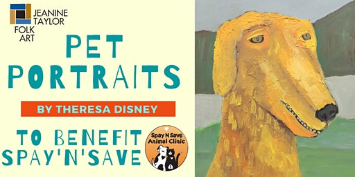 Pet Portraits with Theresa Disney