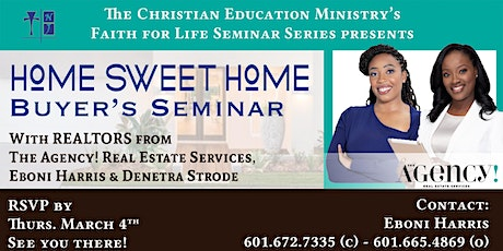 Home Sweet Home Buyer's Seminar tickets