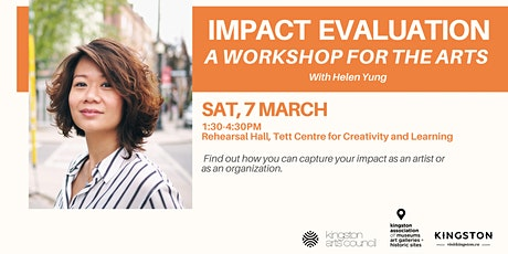 Impact Evaluation: a Workshop for the Arts tickets