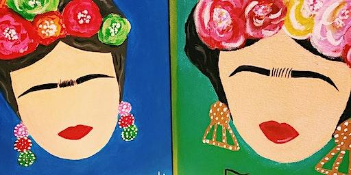 'Frida' paint night at Steelcraft