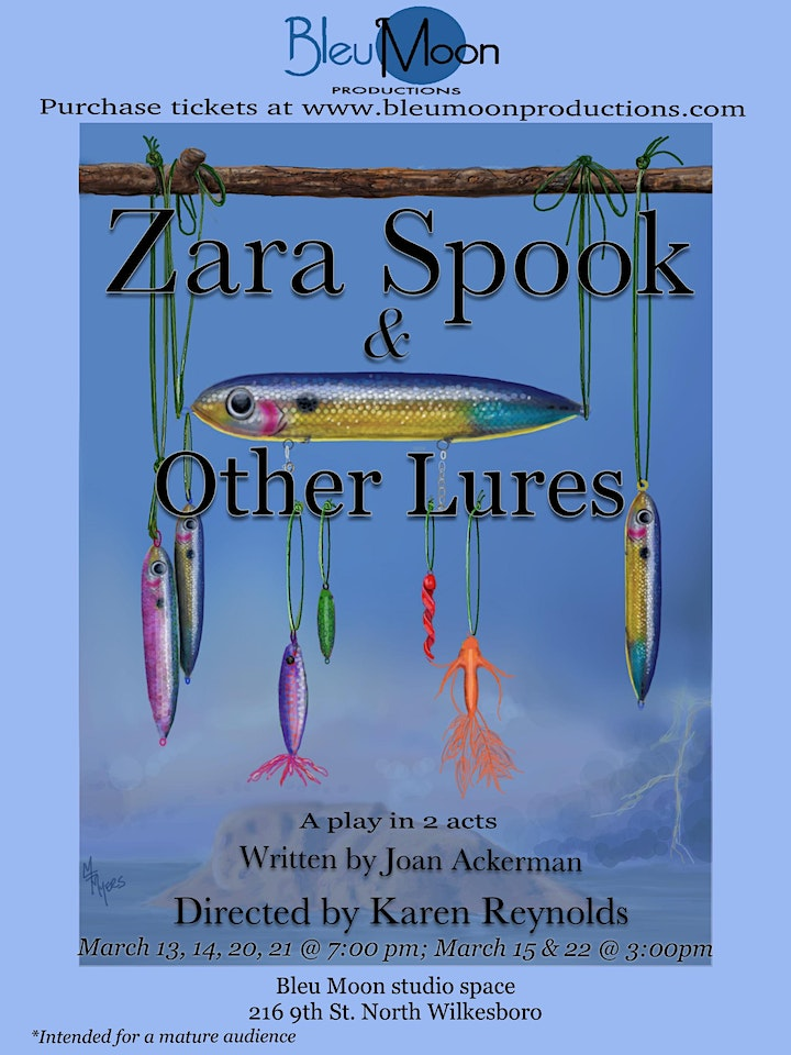 ZARA SPOOK & OTHER LURES (for mature audiences only) image