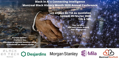 Black in AI x Connecting Intelligence: les enjeux  tickets