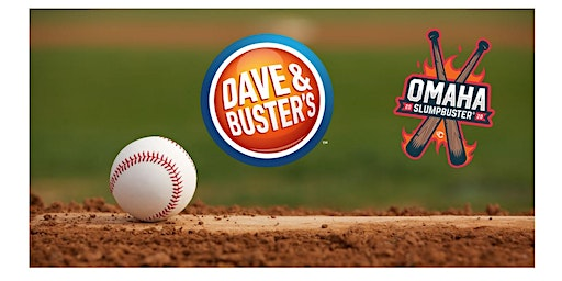 Dave & Buster's Omaha, NE - SlumpBuster Bat Signing Party - June 14th, 2020