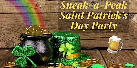 Sneak-a-Peek Saint Patrick's Day Party tickets