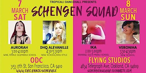 Schengen Squad Dancehall Workshops