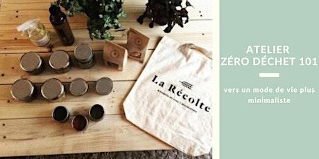 Zéro déchet 101: vers un mode de vie plus minimaliste billets