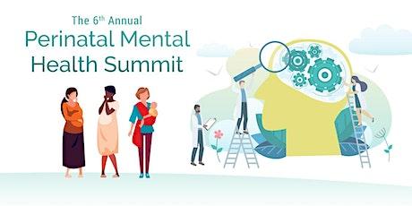 Perinatal Mental Health Summit tickets