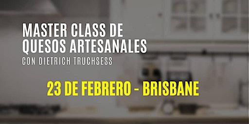 MASTER CLASS DE QUESOS - BRISBANE. Con Doctor Ques