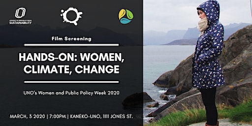 Film Screening - Hands On: Women, Climate, Change